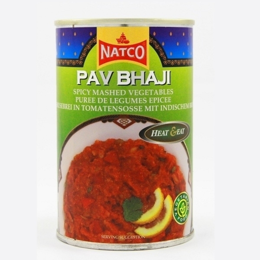 Picture of Natco Pav Bhaji Heat and Eat  450g