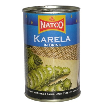 Picture of Natco Karela (Bitter Melon) Tins 400g
