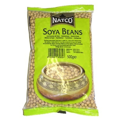 Picture of Natco Soya Beans 500g