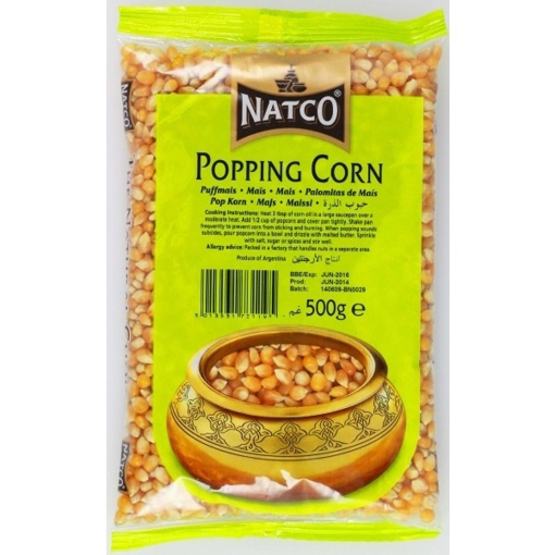 Picture of Natco Popping Corn 500g