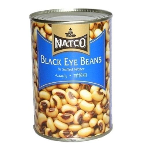 Picture of Natco Black Eye Beans Tin 400g