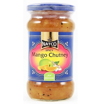 Picture of Natco Spicy Mango Chutney Medium 340g