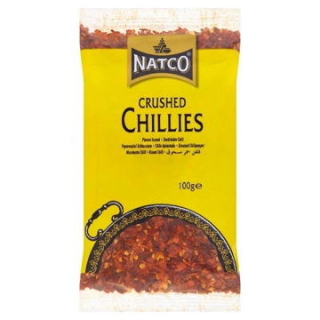 Picture of Natco Chilli Crushed 100g