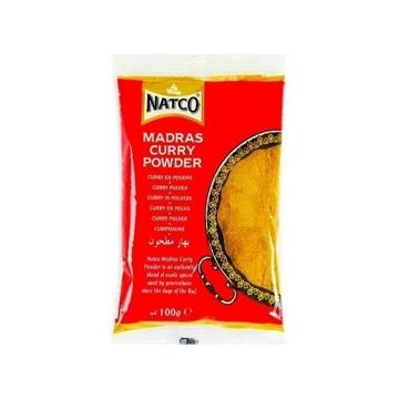 Natco Curry Powder Hot 100g