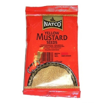 Picture of Natco Yellow Mustard Seed 100g