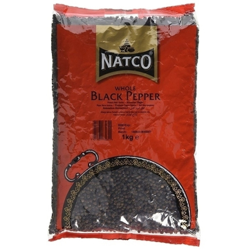 Picture of Natco Black Pepper Whole 1Kg