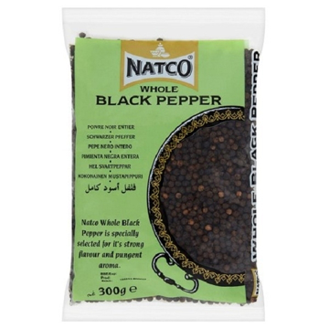 Picture of Natco Black Pepper Whole 300g