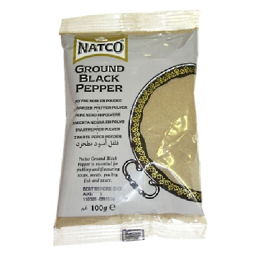 Picture of Natco Black Pepper Ground 100g