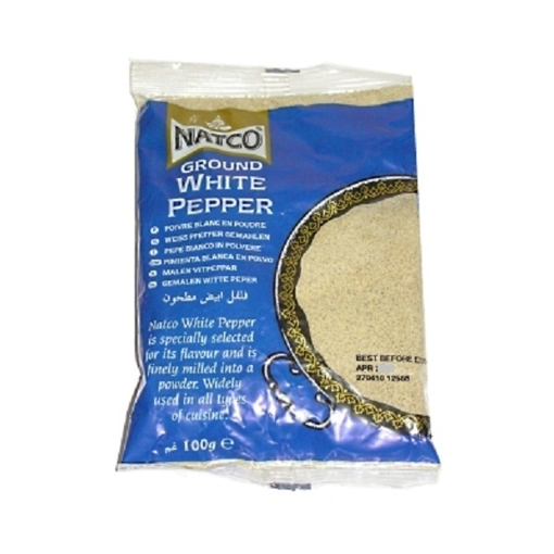 Picture of Natco White Pepper Ground 100g