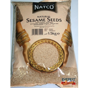 Picture of Natco Sesame Seeds Natural 1.5kg