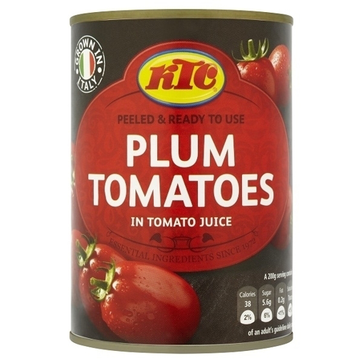 Picture of KTC Plum Tomatoes 800G
