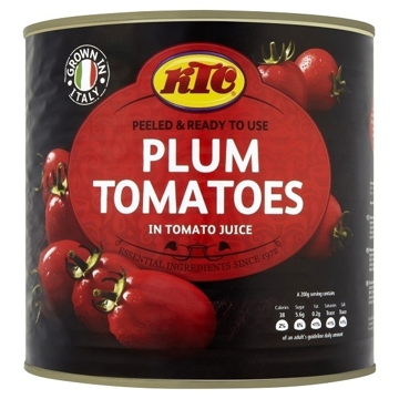Picture of KTC Plum Tomatoes 2.55KG
