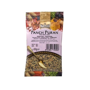 Picture of Natco Punch Puran (5 Whole Spices) 100g