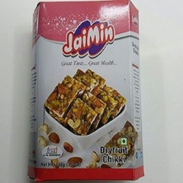 Picture of Jaimin Dry Fruit Chikki 100g