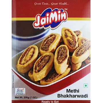 Picture of Jaimin Methi Bhakharwadi 200g