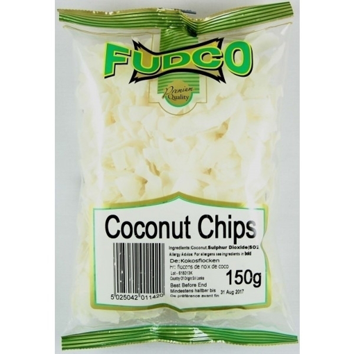 Fudco Coconut Chips 150g