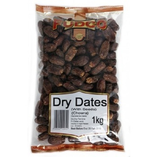Fudco  Dry Dates  with Seeds 1kg