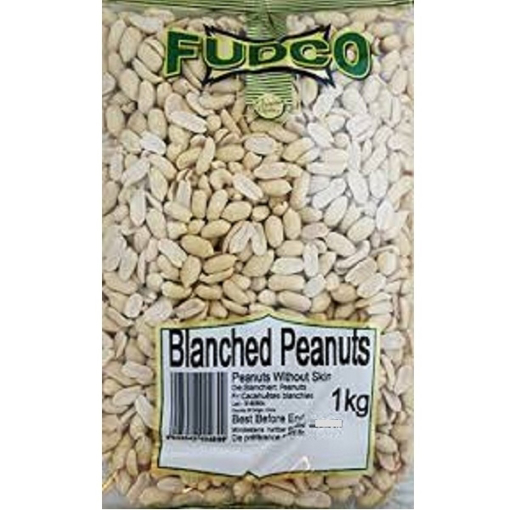 Picture of Fudco Blanched Peanuts 1kg