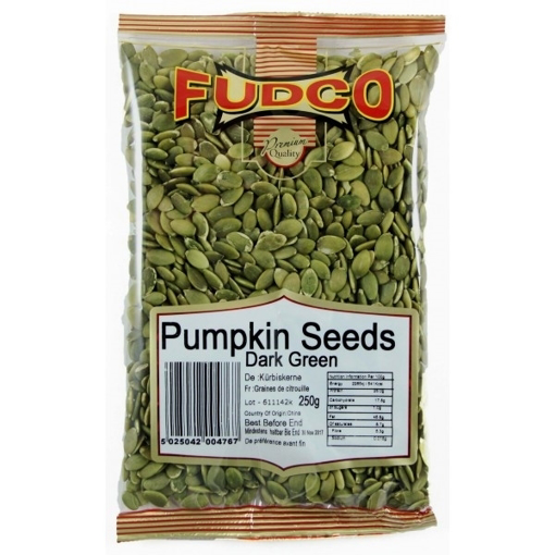 Picture of Fudco Dark Green Pumpkin Seeds 250g