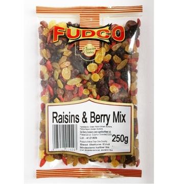 Picture of Fudco Raisins & Berry Mix 250g