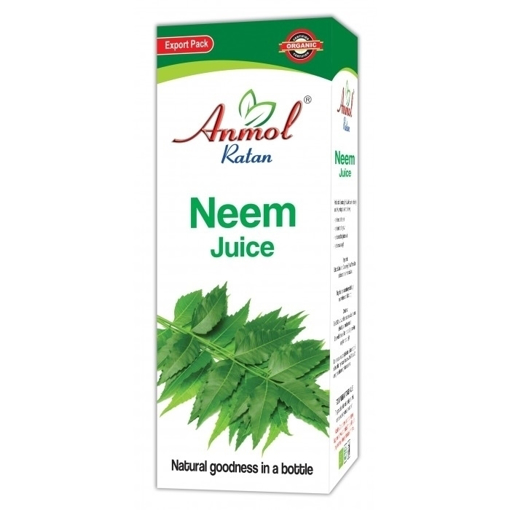 Picture of Anmol Ratan 100% Organic Neem Juice 480ml