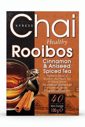 Picture of Chai Xpress Rooibos Red Bush Tea With Cinnamon and Aniseed (chai) 100g