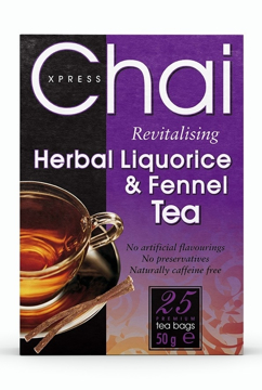 Picture of Chai Xpress Herbal Liquorice and Fennel Tea (chai) 50g