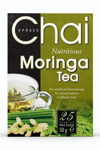 Picture of Chai Xpress Moringa Tea / Moringa Oleifera 50g