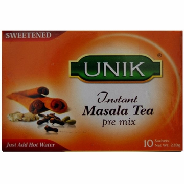 Picture of Unik Masala Tea Sweetened 140g (10 Sachets)