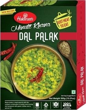 Haldirams Minute Khana Dal Palak 300g