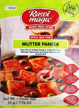Picture of Rasoi Magic Mutter Paneer Mix 50g