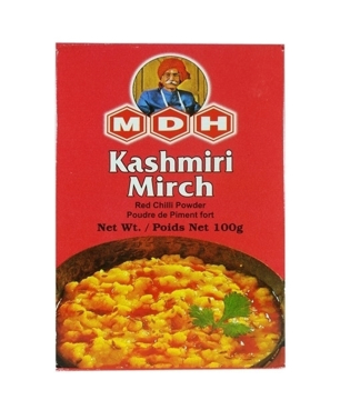 MDH Kashmiri Mirch (Red Chili)  Masala (Spices) 100g