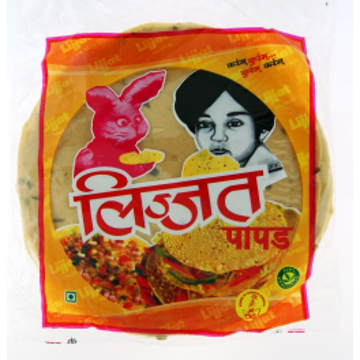 Lijjat Garlic Papad - 200g