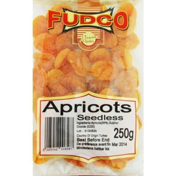 Fudco Dry Apricots (Seedless) 250g