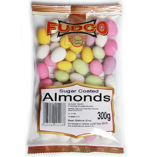 Fudco Sugar Almonds 300g