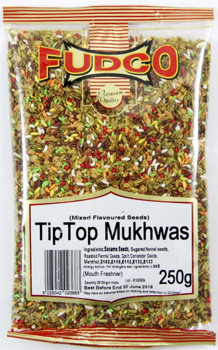 Fudco Tip Top Mukhwas (Mixed Flavoured Seeds) 250g