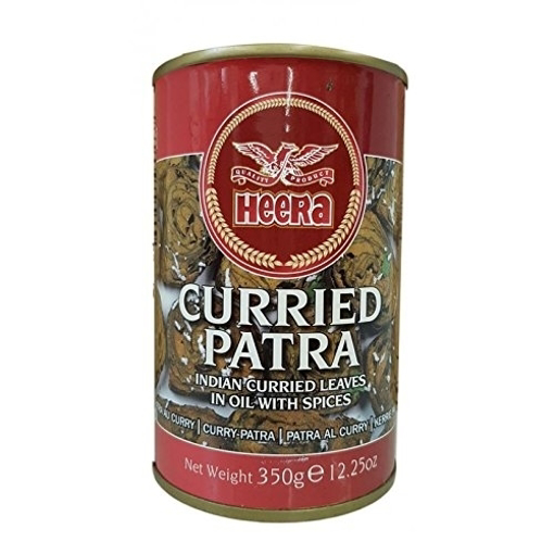 Heera Curried Patra Tin 350g