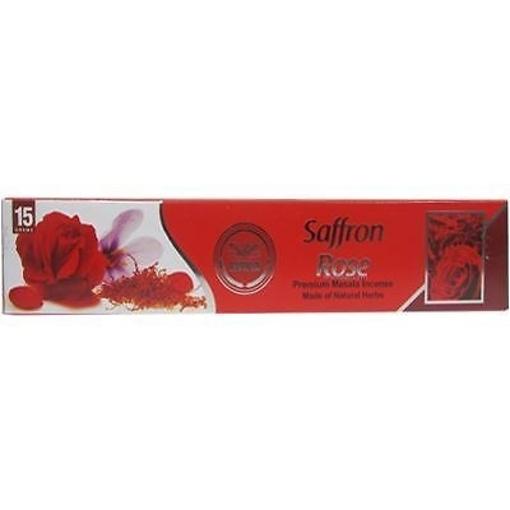 Heera Safron Rose Incense Sticks 15G