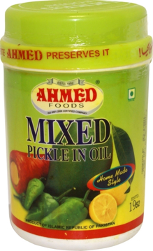 Ahmed Mixed Pickle In Oil 1Kg