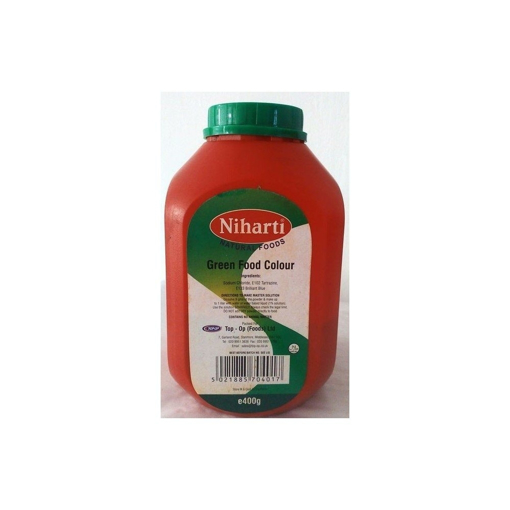 Picture of Niharti Green Food Colour 400g