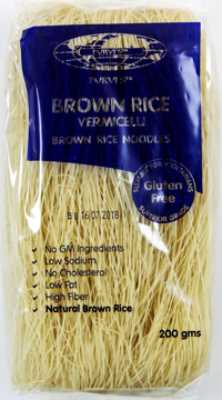 Purvi Brown Rice Vermicelli 200g