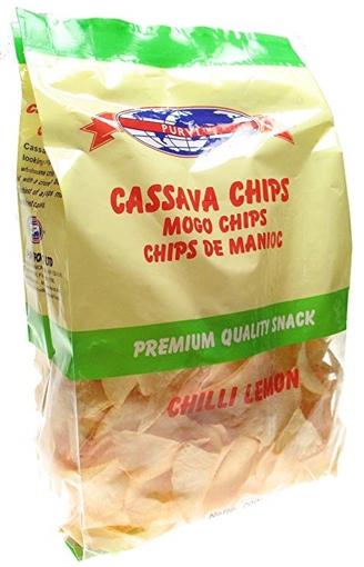 Picture of Purvi Cassava Chips Chilli Lemon 200g