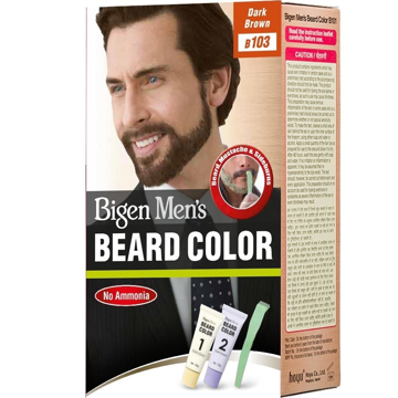 Bigen Men's Bread Colour B103 Dark Brown