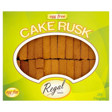 Regal Cake Rusk Egg Free 28 Pices 250g