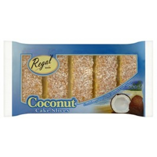 Picture of Regal Sliced Coconut Cake PMP £1.99