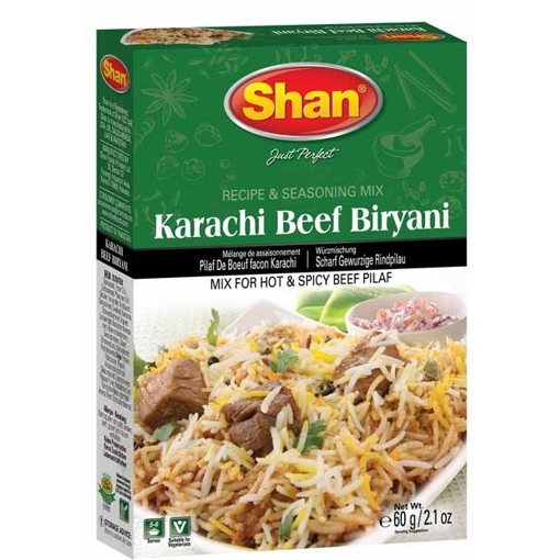 Picture of Shan Karahi Beef Biryani Masala 60g