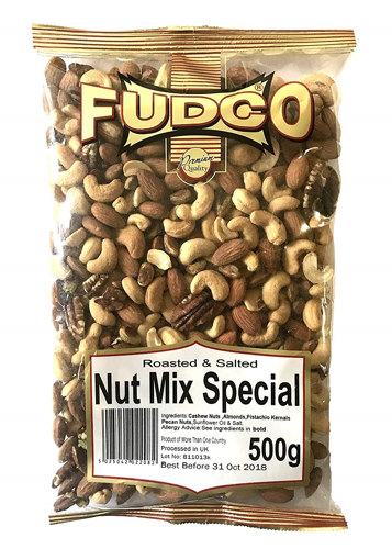 Fudco Nut Mix special Roasted and Salted 500g