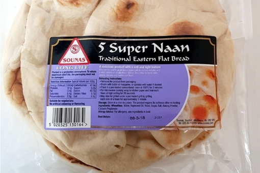 Picture of Sounas 5 Super Naan