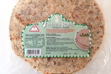 Picture of Sounas Methi Rotis 4pcs