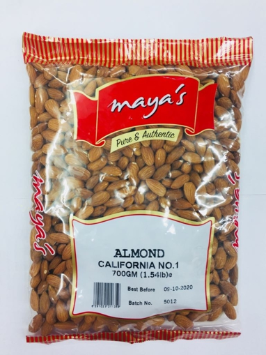 Picture of Maya's Raw Almond 700g
